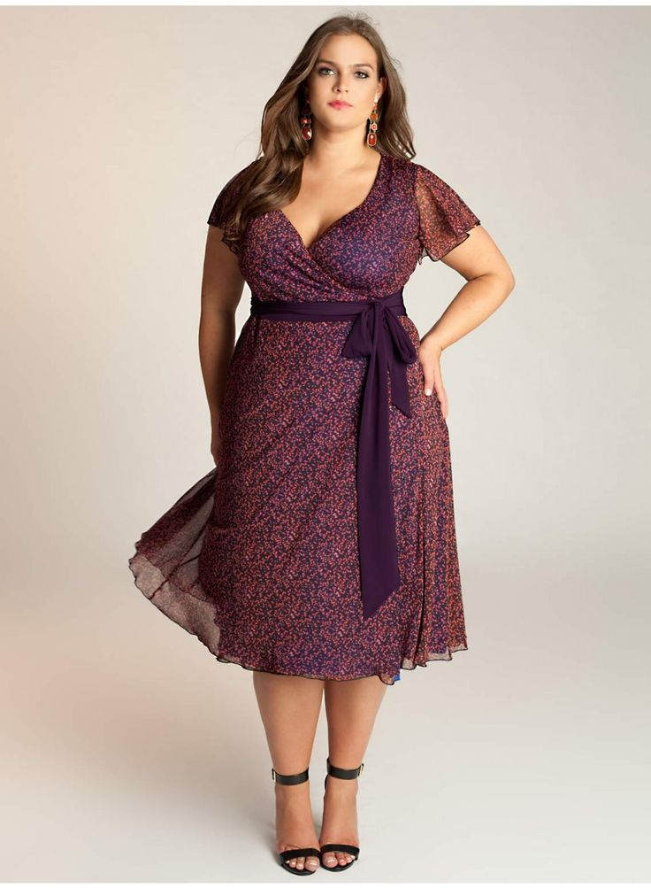 Veronica marisol purple lace dress