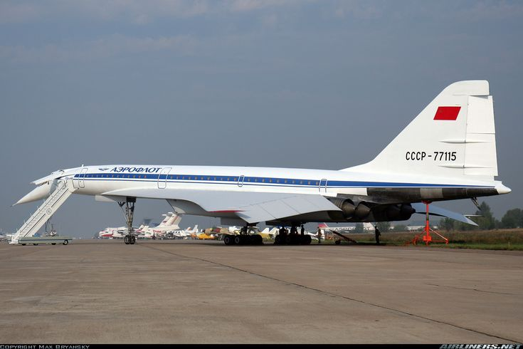 Photos: Tupolev Tu-144D Aircraft Pictures | Airliners.net