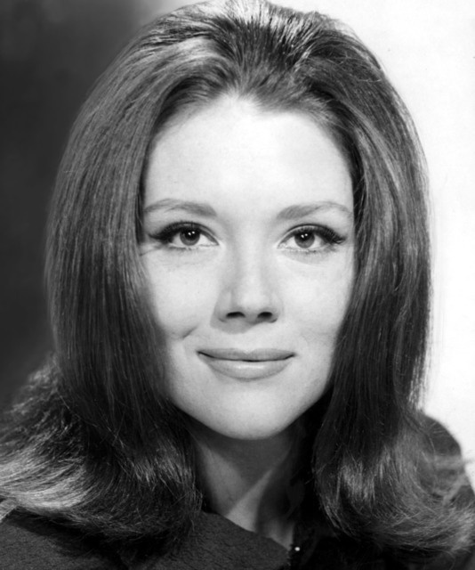 """Diana Rigg as Emma Peel on """"The Avengers"""" in 1960's.  Loved that show!"""