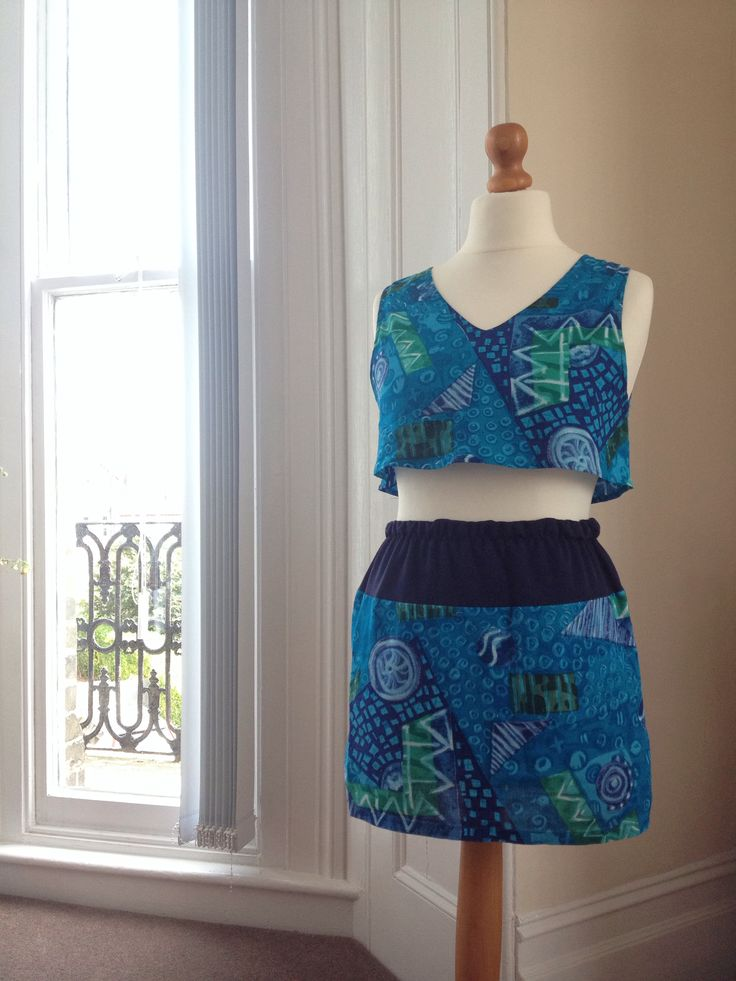 Reworked vest into Coord outfit - Sold