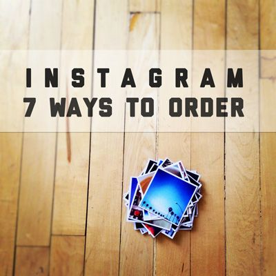 A cool way to bring your Instagram photos into the real world. So going to to do this.