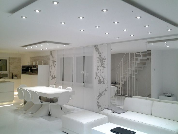 Esszimmer indirekte beleuchtung  Lisego Deckensegel - Indirekte Beleuchtung für Wohnzimmer, Küche ...