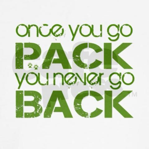 <3 my Pack