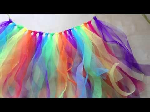 DIY Le Tutu Arc-En-Ciel de sa Rainbow-Party! - Allo Maman Dodo