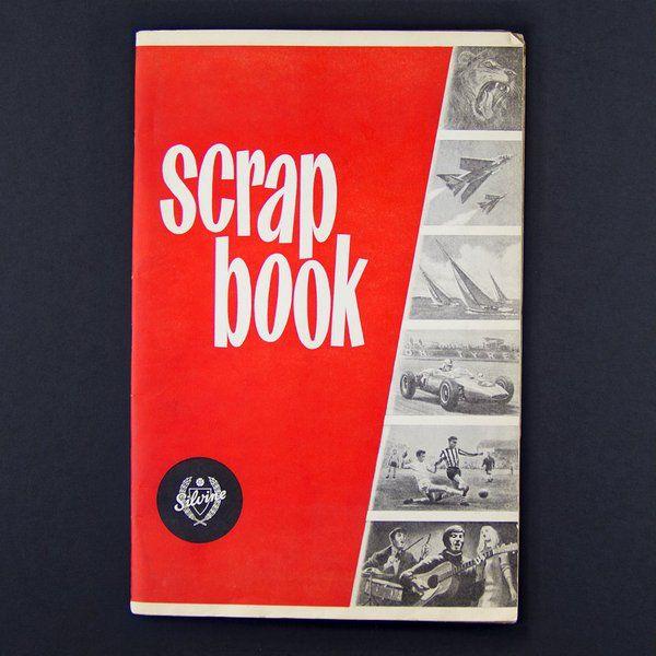 Scrap Books (this one is from Silvine Originals (@SilvineOriginal) on Twitter