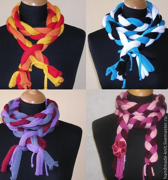 Шарф-коса - шарф,шарф женский,шарф вязаный,шарфик,шарф-коса,подарок девушке