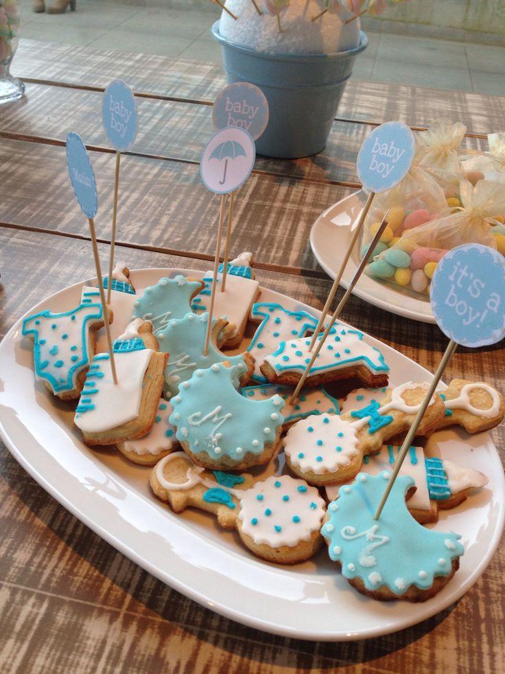 Galletas babyshower cookies