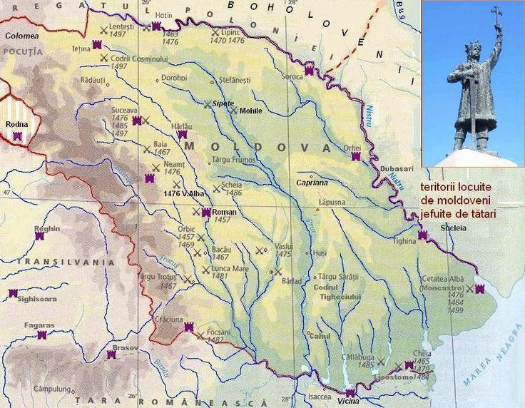 medieval moldova map - Google Search