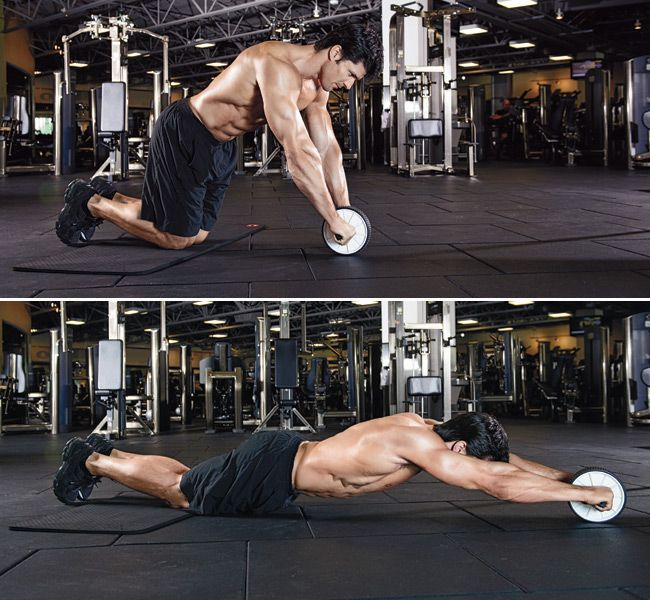 Two Supersets to Six-Pack Abs       Get a ripped midsection with this quick, but advanced abs routine. http://www.muscleandfitness.com/workouts/abs-exercises/two-supersets-six-pack-abs