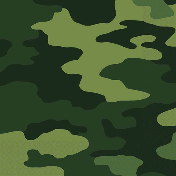 Amscan Camo lunch napkins at Let's Party with Balloons