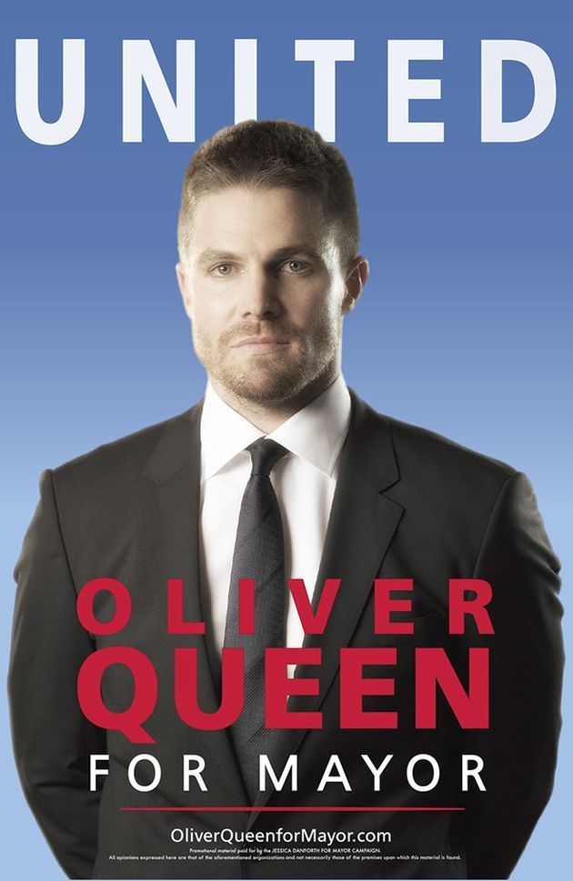 Arrow : Oliver Queen, maire de Starling City ! - Unification France