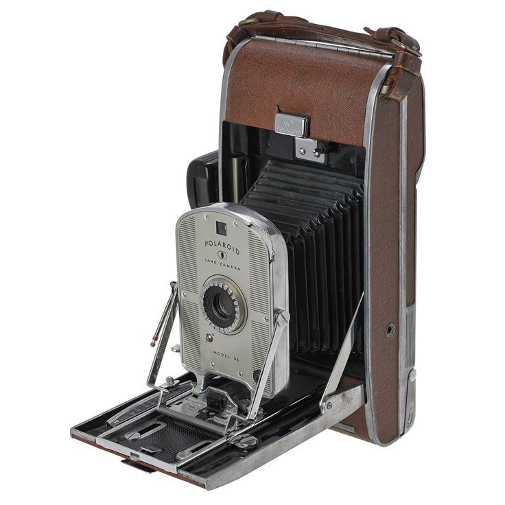 Polaroid Land Camera Model 95 ~ would love to find this to add to our collection for decorating our library. :)