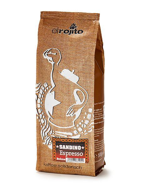 Sandino Espresso 500 g Bohne