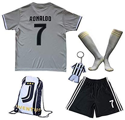 the latest 94b4c ba15d Amazon.com : GamesDur 2018/2019 Cristiano Ronaldo #7 Away ...