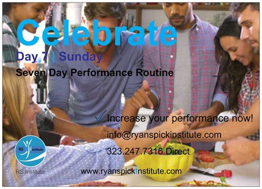 #Day #Celebrate #Routine #Life #Performance #Training #Achieve #Goal #Potential