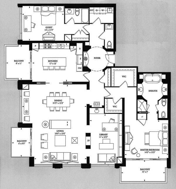 18 best sold four seasons private residences luxury for Toronto house plans