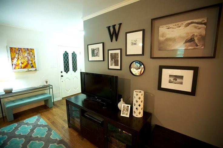 17 Best Images About Tv Walls On Pinterest A Tv Corner