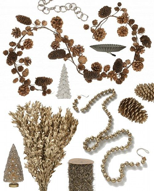 trim me up: Gifts Trim, Gift Guide, Natural Gifts, Pinecones, Pinecone Garland, Nature Decorations, Gifts Guide, 2011 Gifts