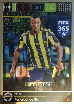 Football Cartophilic Info Exchange: Panini - Adrenalyn XL FIFA 365 (08) - Limited Edition