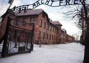 Μια πορσελάνινη φιγούρα του Μίκι Μάους, που ανήκε πιθανότατα σε κάποιο παιδί το οποίο είχε σταλεί στο ναζιστικό στρατόπεδο εξόντωσης Άουσβιτς-Μπιρκενάου,...