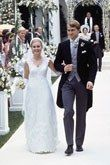 The anticipation surrounding the impending nuptials of former first daughter Chelsea Clinton and banker Marc Mezvinsky has reached a fever pitch, so we were inspired to look back at how some other first children celebrated their weddings. It turns out that these high profile affairs have tended to fall into two camps—lavishly produced events with massive guest lists, or intimate anti-weddings. (We're thinking Chelsea's wedding is poised to fall into the former category.)