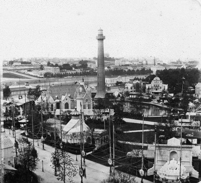 Vue générale de l'exposition universelle de Paris de 1867