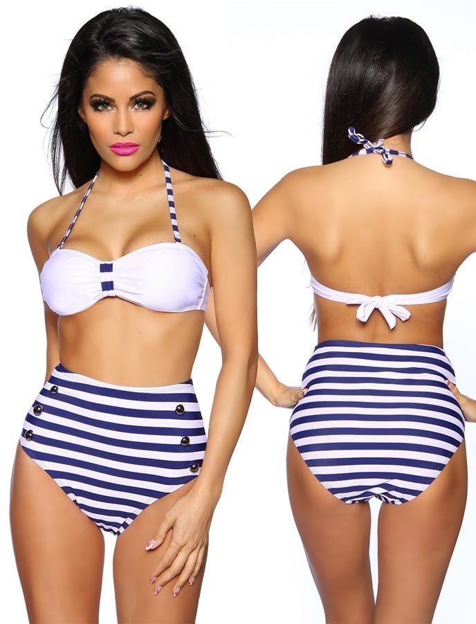 Retro Bikini - 50er Beachwear - Vintage-Style