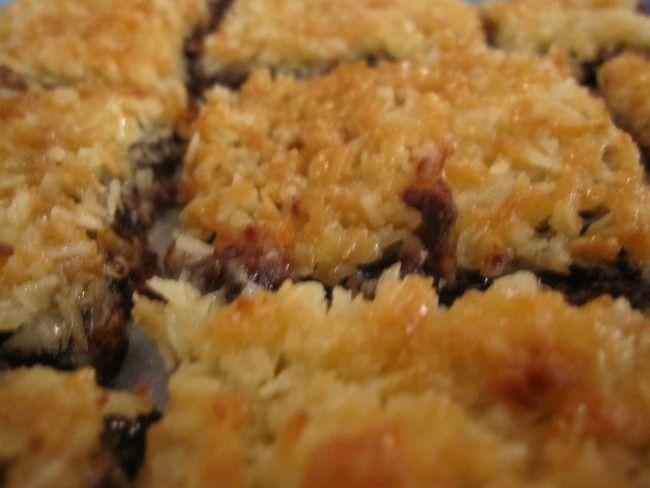 Gluten- och laktosfri falsk tosca