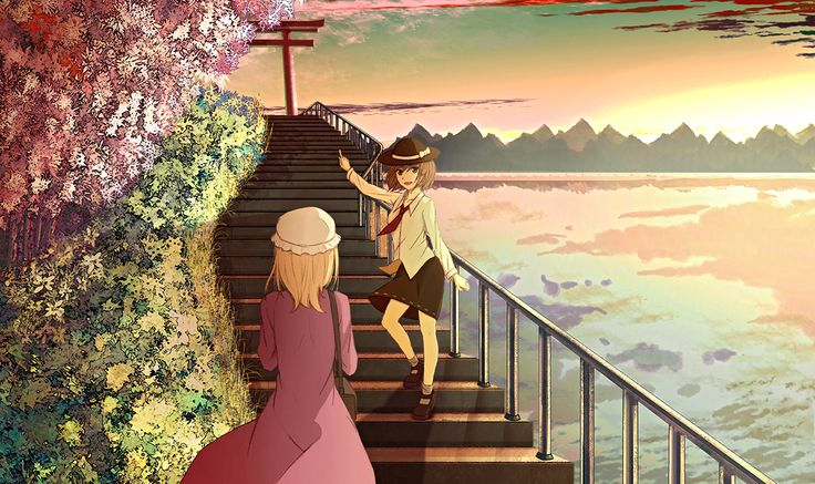 Dramatic Pause - Shinta - Usami Renko and Maribel Hearn