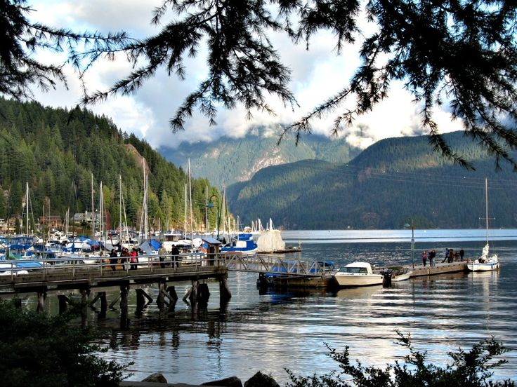 Take a trip out to Deep Cove, Vancouver BC. One of the most beautiful places!