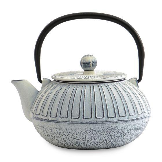 Théière fonte de fer blanc 0,85l - Café, thé - Arts de la table
