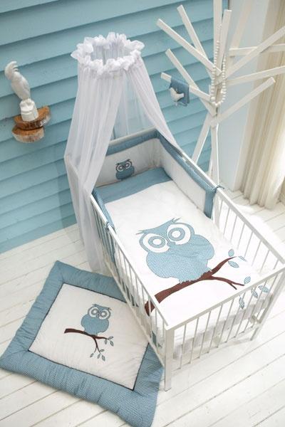 Babykamer Thema Uil. Accessoires verkrijgbaar bij www.aapje4kids.nl