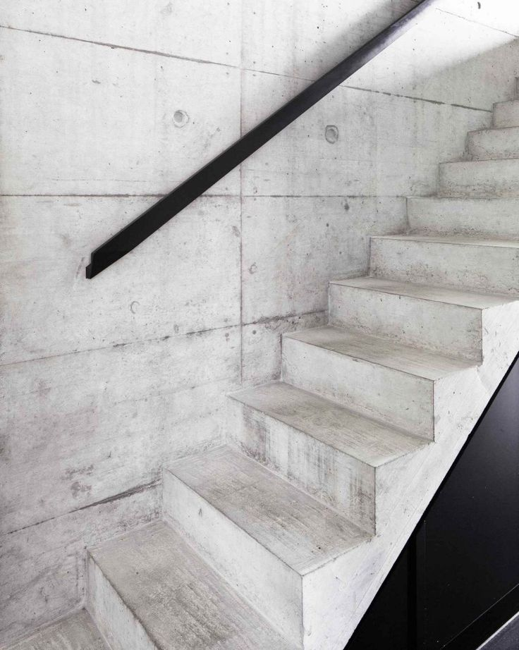 Gallery Of Private House / Gramazio U0026 Kohler   9. Concrete StairsStairwaysStaircase  RailingsInterior ...