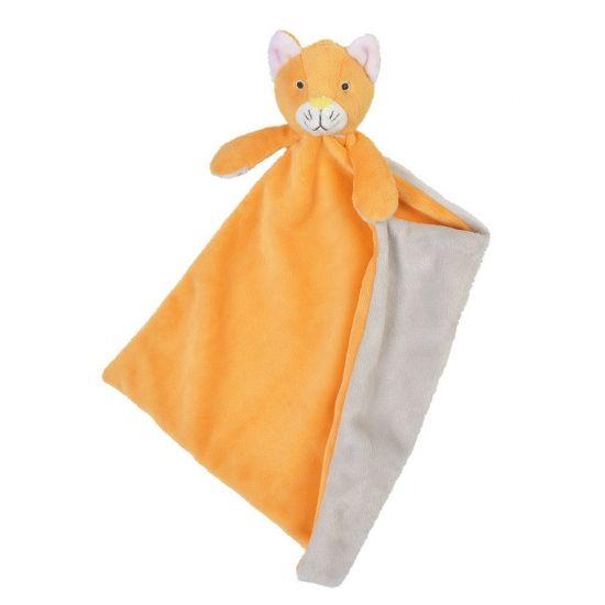 Happy Horse knuffeldoekje kat Cally. Dit oranje katten tuttel knuffeldoekje van…