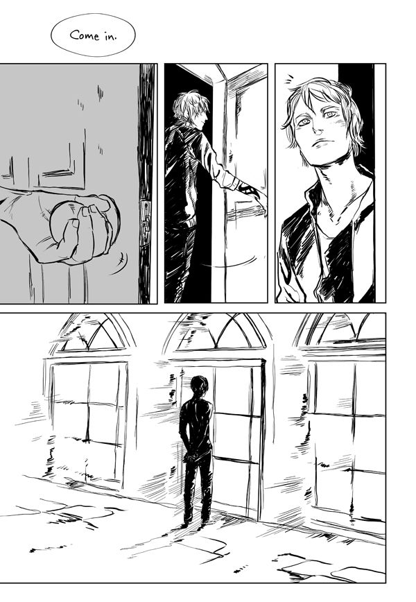 "Goodbye Brother Zachariah page 1 ...   Drawn by Cassandra Jean ...   jace herondale, james 'jem' carstairs, the mortal instruments, brother zachariah ...   ""A parabatai. Like he was. And Jace knew, too, what that faded rune meant: a parabatai whose other half was dead. He felt his sympathy leap toward Brother Zachariah, as he imagined himself without Alec, with only that faded rune to remind him where once he had been bonded to someone who knew all the best and worst parts of his soul."""