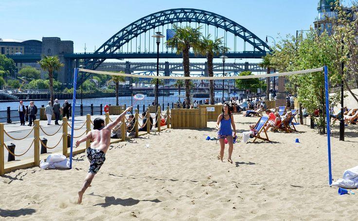 Beach on the Tyne - July 2015