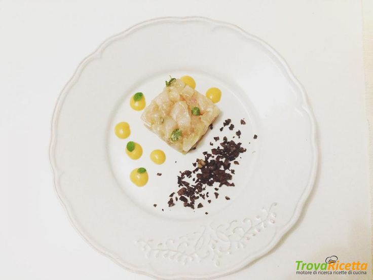 Tartare di dentice alla mediterranea  #ricette #food #recipes