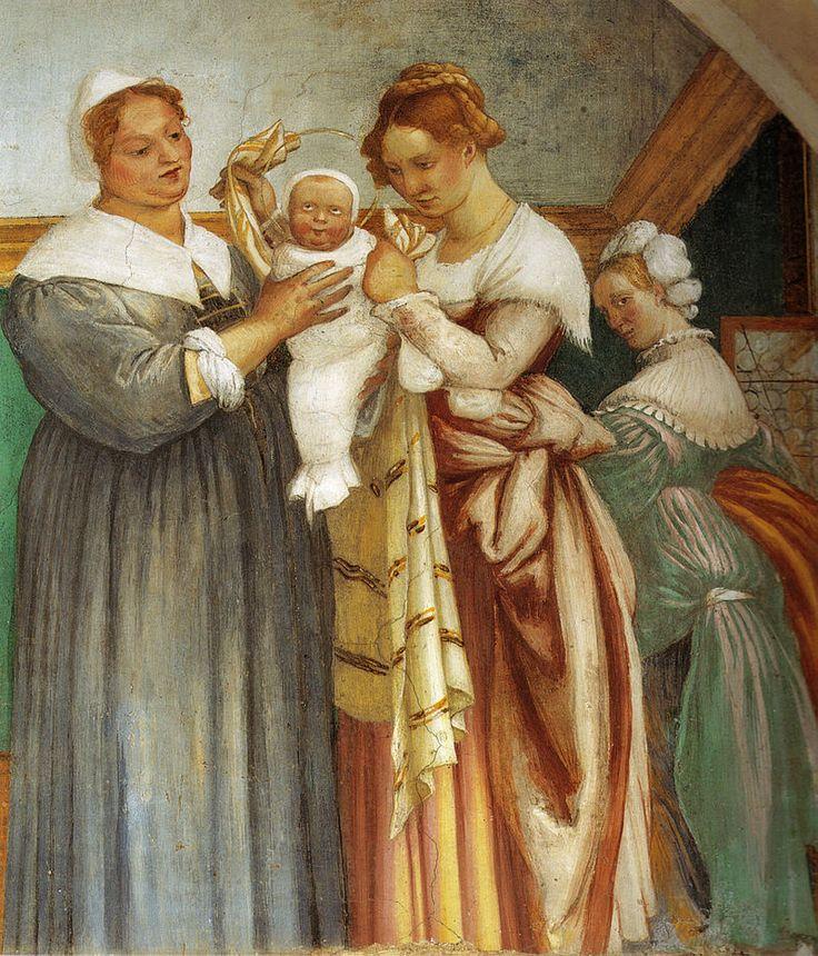 Lotto, natività di maria, 1524