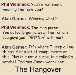 Funny quotes from The Hangover