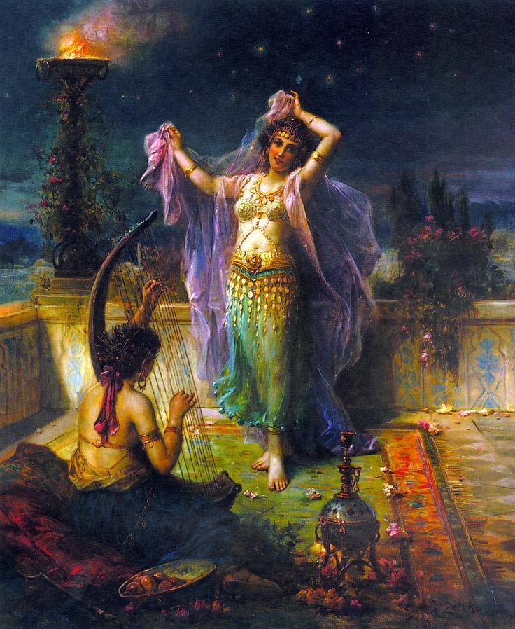 Arabian Nights - Hans Zatzka, 1859-1949