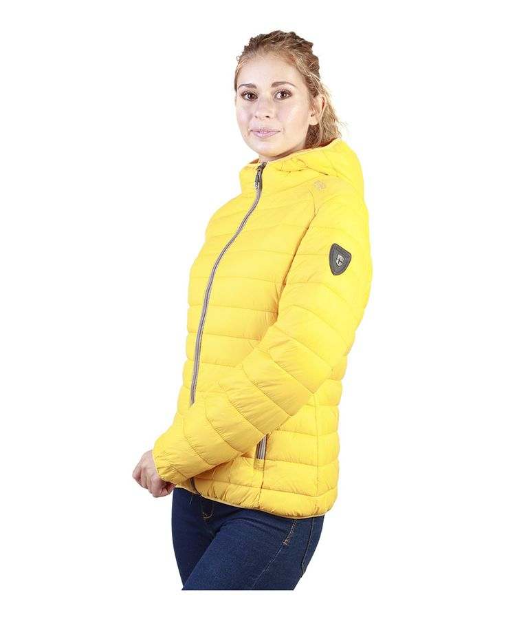 Giacca donna  NORWAY GEOGRAPHICAL Andy_woman Giallo - titalola.com