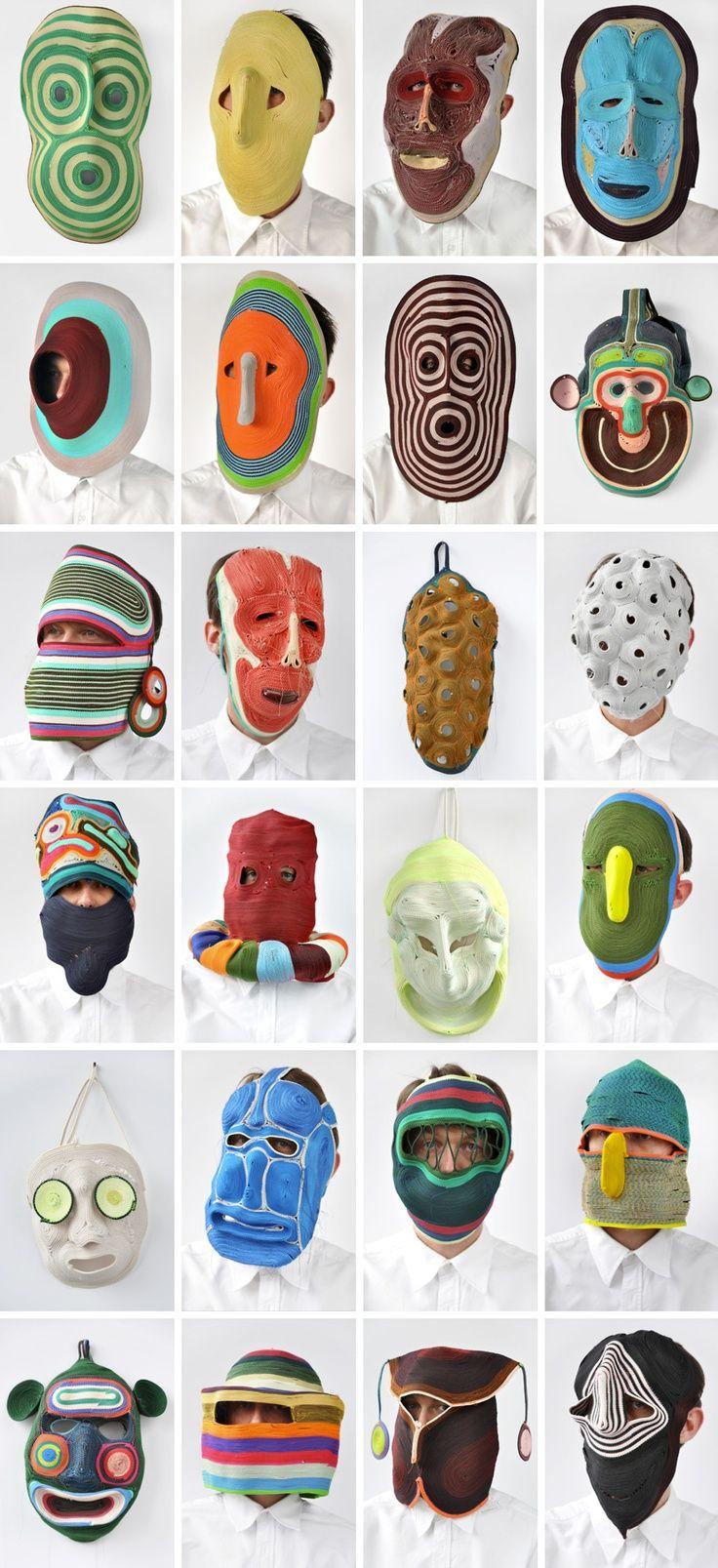 art of overwhelm #mask #art
