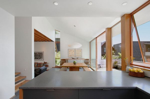 Warm, Modern Home Full of Concrete and Wood Details  in main architecture  Category