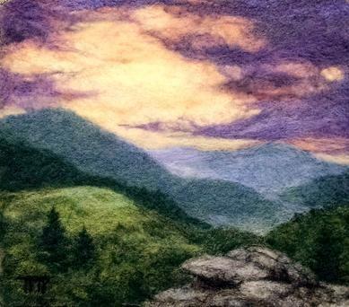 """""""A New Dawn"""" by Tracey McCracken Palmer of Bonnieblink Studio"""