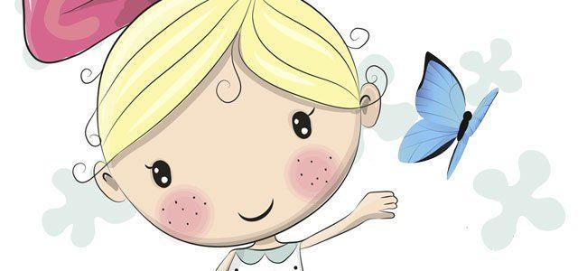 Leyenda de la mariposa azul
