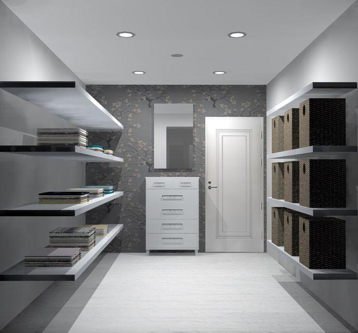 Closet lighting design