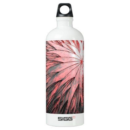 Abstract Flower2 - SIGG Water Bottle - metal style gift ideas unique diy personalize