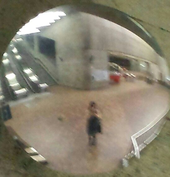 #selfie #mirror #reflection #metro
