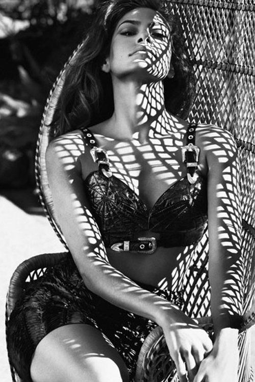 Eva Mendes Fashion Editorials