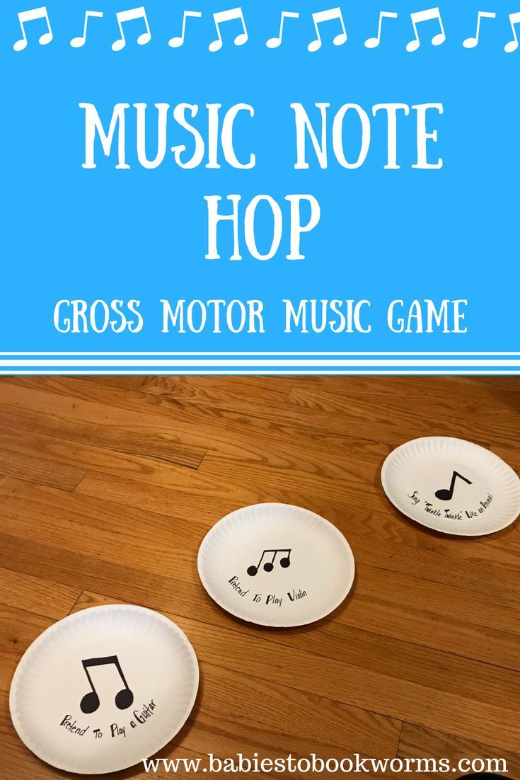 Get kids excited about music with this fun gross motor game! #MusicGame #TeachingMusic